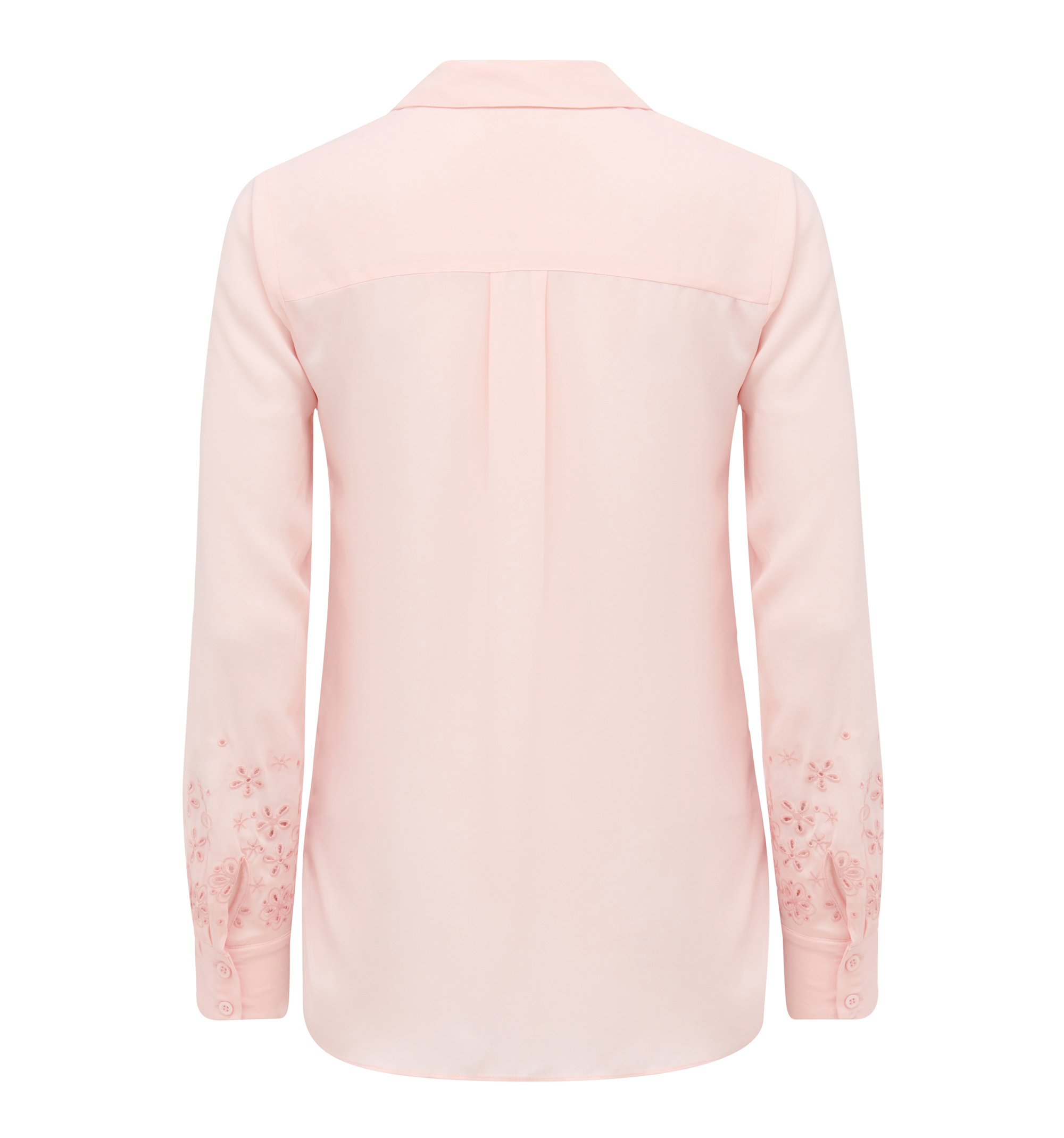 Evelyn embroidered sleeve shirt forever new singapore