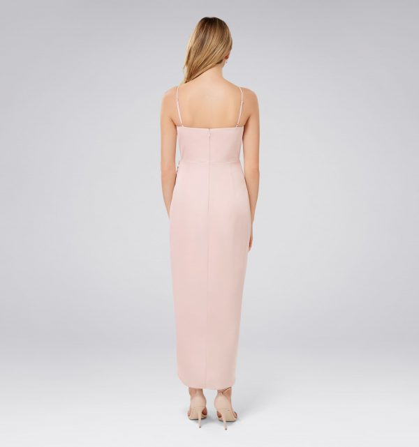 Holly Cowl Neck Midi Dress Forever New Singapore